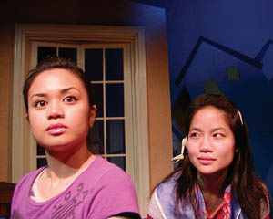Mayette Villanueva and Sylvia Kwan, B Street Theatre photo
